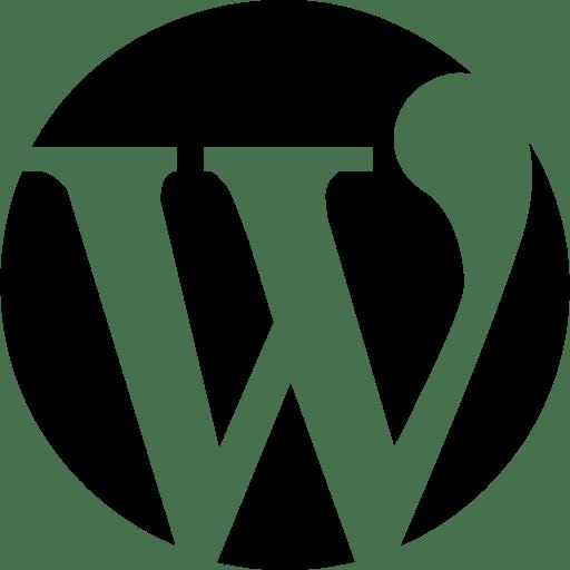 wordpress black white 2